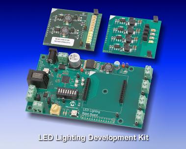 Microchip: Digital LED Lighting Development Kit