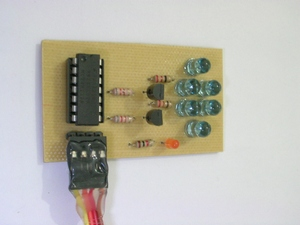 AVR IR Downloader: IR transmitter