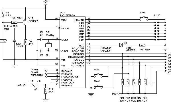 Стабилизатор напряжения на микроконтроллере ремонт сварочного аппарата в колпино