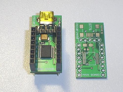 USB Small Peripheral Board (aka PIC18F14K50 Board) Finished