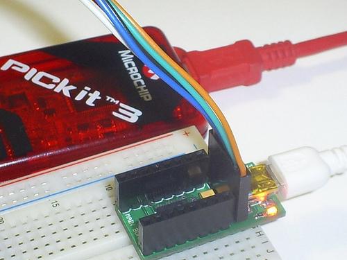 USB Small Peripheral Board (aka PIC18F14K50 Board) Programming via PICkit3