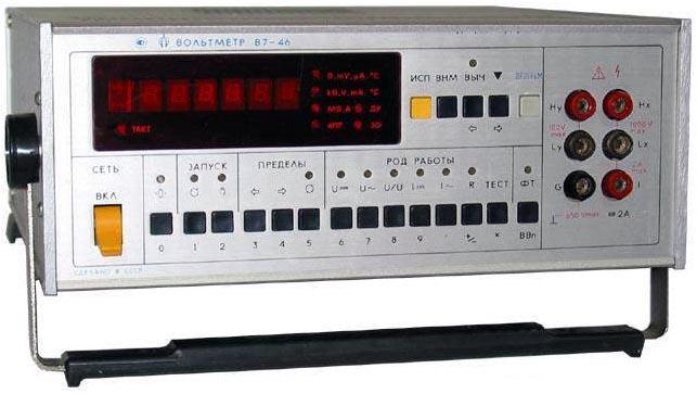 В7-16 вольтметр схема