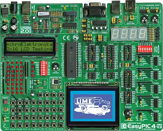 mikroelektronika EasyPIC4