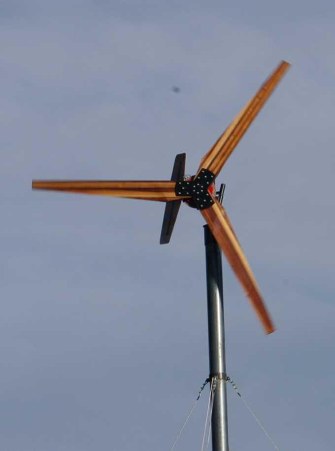 Новая ветровая турбина диаметром 5.2 м