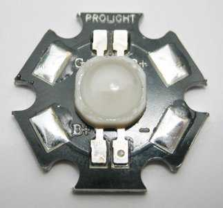 3W high power RGB LED