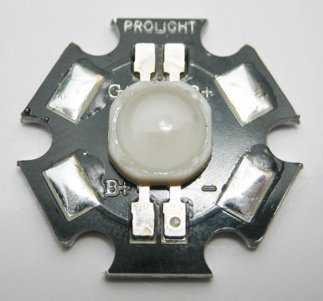3W high power RGB LED