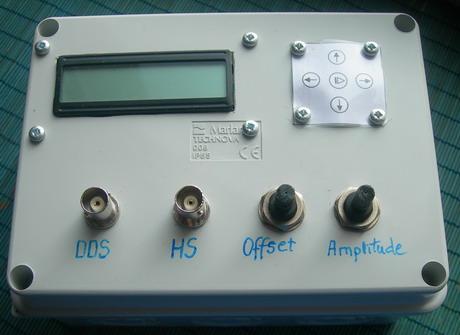 AVR DDS signal generator V2.0