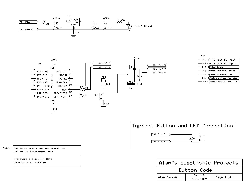 схема вольтметра на микроконтроллере pic16f628a