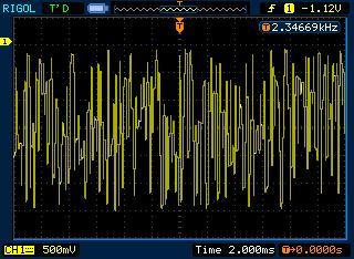 DDS генератор на Atmega16:  шум