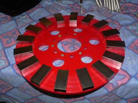 New 17 foot Wind Turbine. Part 2. Magnet rotors