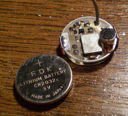 FM bug 420-480 MHz