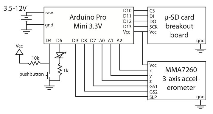 arduino pro mini schematic