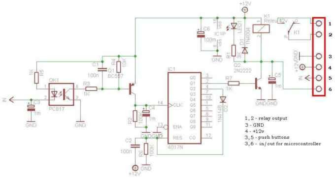 In standby, when... when relay is ON, consume depend of 12V relay current. digital impulse relay consume 0V.
