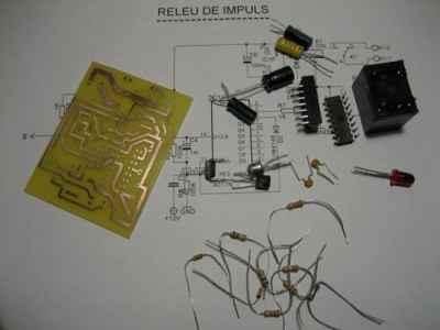 Digital Impulse Relay. Parts List