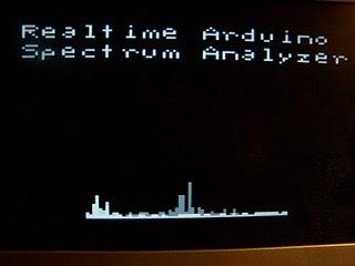 Анализатор спектра на базе Arduino