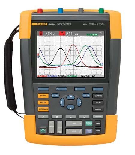 Fluke 190-204 ScopeMeter Series II