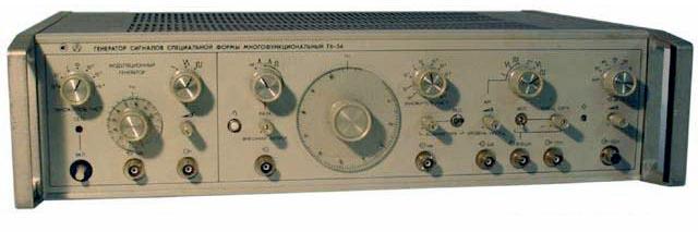 Источник электрических сигналов в диапазоне инфранизких, низких и высоких частот.  Выполнен по схеме генератора с...