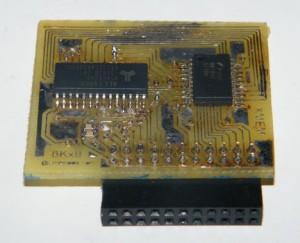 MEM expansion board with some SRAM memory for Atmega128