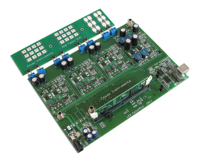 Texas Instruments: оценочный набор TMDSRGBLEDKIT