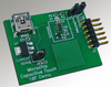 ...коннектор USB miniB для питания платы, коннектор PICkit 2 / ICD.