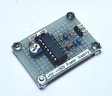30V power supply with +5V