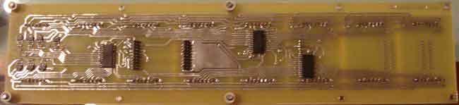 Dot matrix LED running display