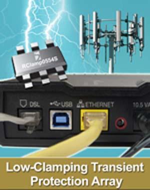 Semtech - RailClamp - RClamp0554S