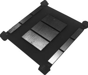 Деполяризационная пластина для установки в конвертеры С-диапазона