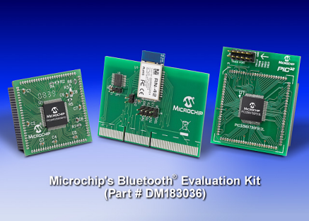Microchip: DM183036 Bluetooth Evaluation Kit