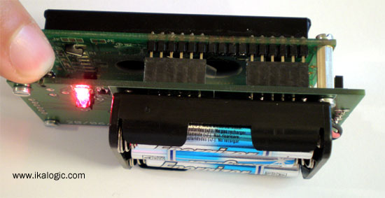 на микроконтроллере AVR.