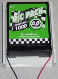 6 volt NiCd battery
