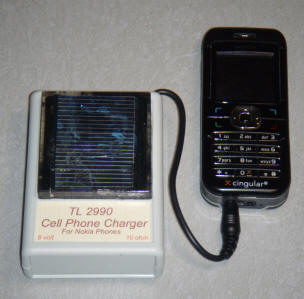 Solar Cell Phone Charger