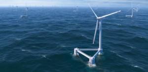 Vestas и WindPlus развертывают уникальную плавающую ветровую турбину