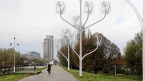 Появились ветровые турбины для домашнего пользования