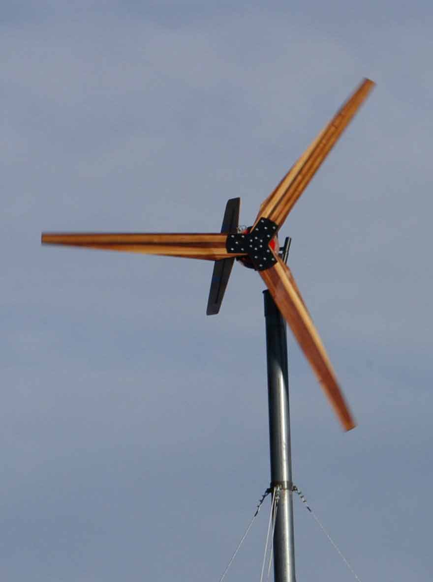 17 Foot Wind Turbine
