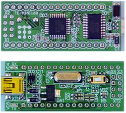 Терраэлектроника: микроконтроллерный модуль TE-MINI328