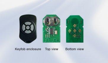 PMAfob: single-chip keyfob