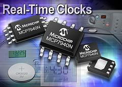 Microchip: часы реального времени MCP7940N