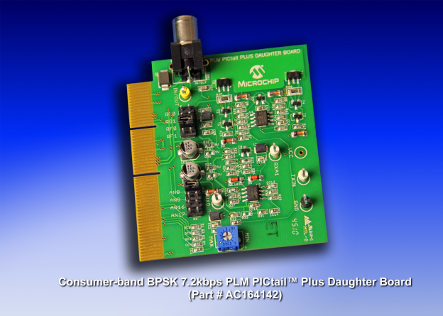 Microchip: Power-Line Modem PICtail Plus Daughter Board Development Kit