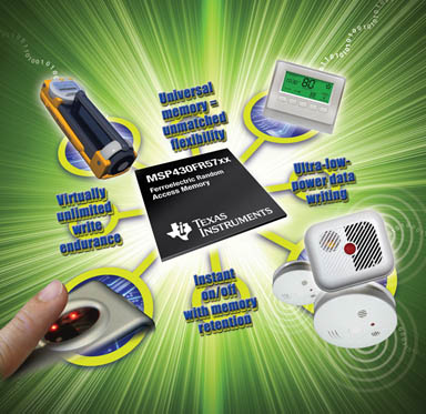 Texas Instruments: MSP430FR57xx