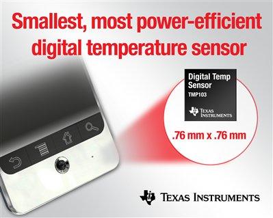 Texas Instruments: TMP103 temperature sensor