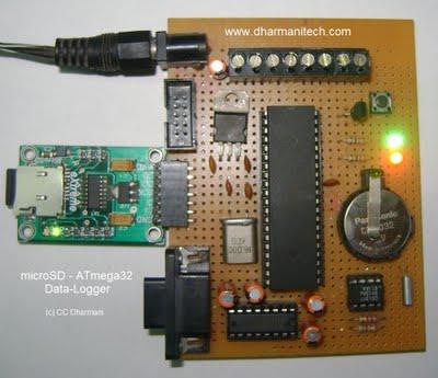 и накопления данных на AVR