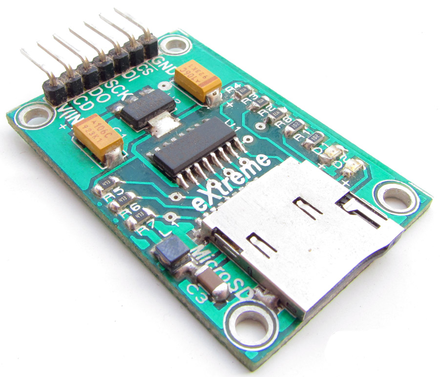 Модуль SD карты памяти с