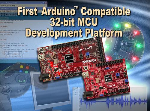 Microchip: отладочные наборы Arduino-совместимые