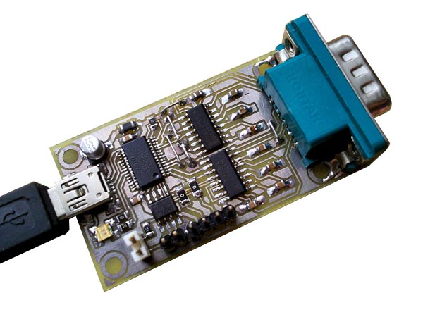 Конвертер 3 в 1 - USB в RS-232