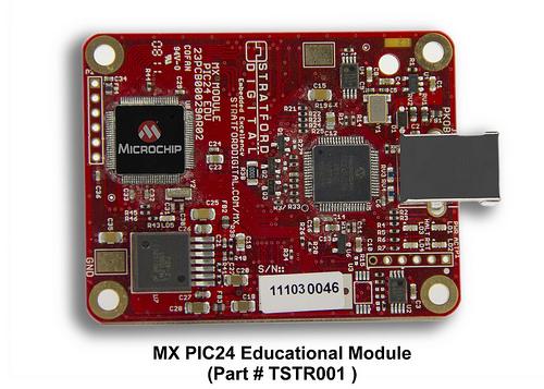 Microchip, Stratford Digital : MX PIC24 Module