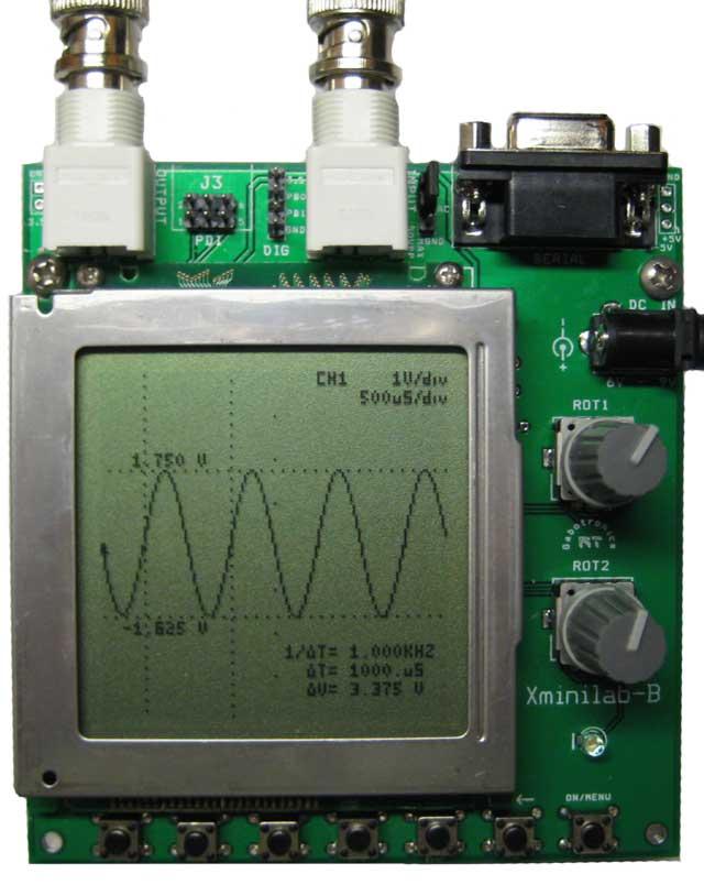 Development Kit And Mixed Signal Oscilloscope On Avr Atxmega
