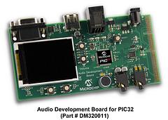 Отладочная плата Microchip Audio Development Board for PIC32 MCUs (DM320011)