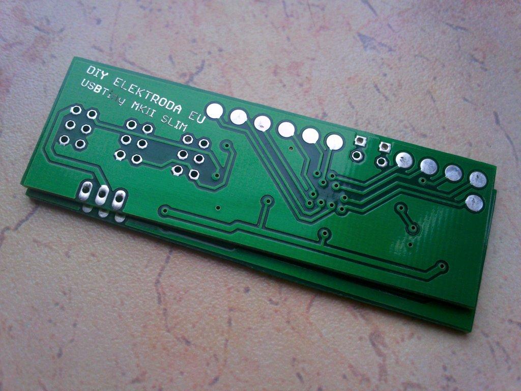 USBTiny-MkII SLIM PCB
