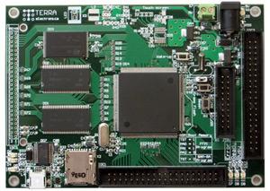 многоцелевой встраиваемый модуль Терраэлектроника TE-AT91SAM9XE512L